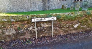 Praying for people living on Dereham Road, Mattishall