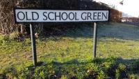 Praying for people on Old School Green, Mattishall